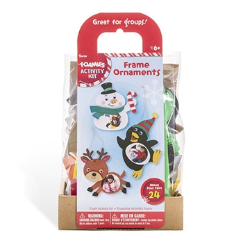 Darice FOAM FRAME ORNAMENTS Activity Kit 30012780