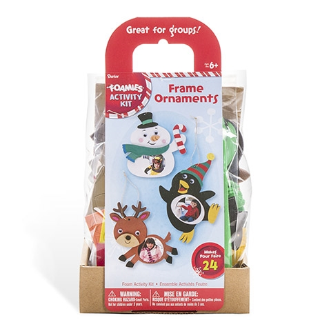 Darice FOAM FRAME ORNAMENTS Activity Kit 30012780 zoom image