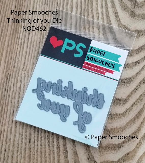Paper Smooches THINKING OF YOU Die NOD462 zoom image