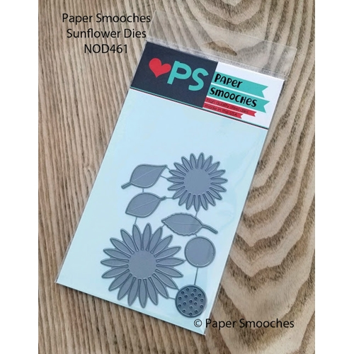Paper Smooches SUNFLOWER Dies NOD461 Preview Image