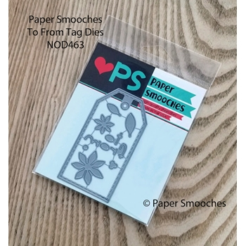 Paper Smooches TO FROM TAG Dies NOD463