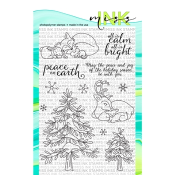 Miss Ink Stamps CALM AND BRIGHT Clear Set n19st01