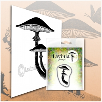Lavinia Stamps MINIATURE FOREST MUSHROOM Clear Stamp LAV564
