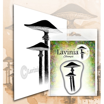 Lavinia Stamps MEADOW MUSHROOM Clear Stamps LAV563