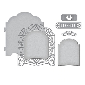S5-408 Spellbinders GRAND VAULTED CABINET Etched Dies