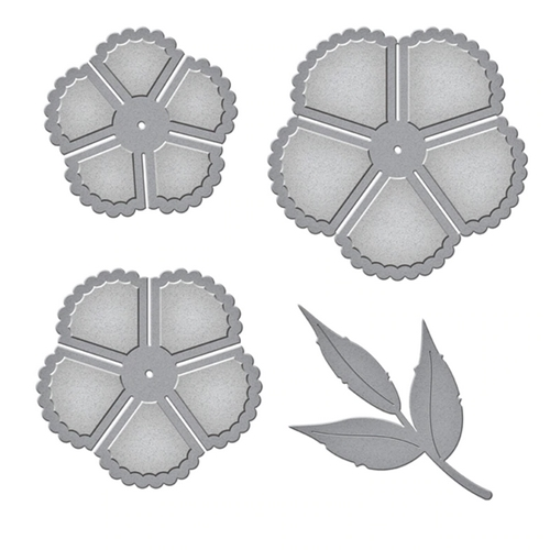 S4-1025 Spellbinders SWEET COTTAGE FLOWERS Etched Dies Preview Image
