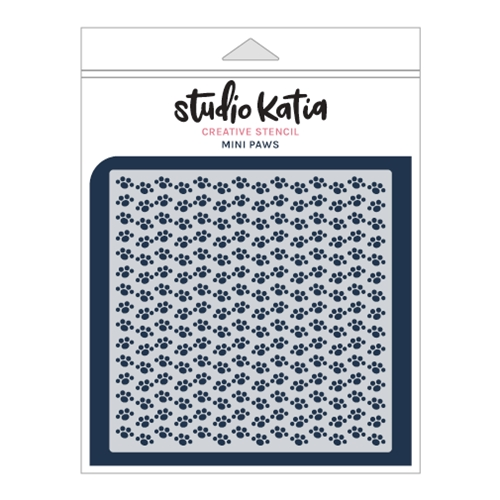 Studio Katia MINI PAWS Stencil sks021 Preview Image