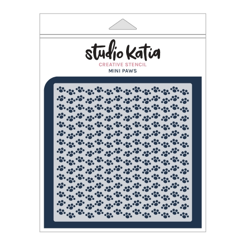 Studio Katia Mini Paws Stencil