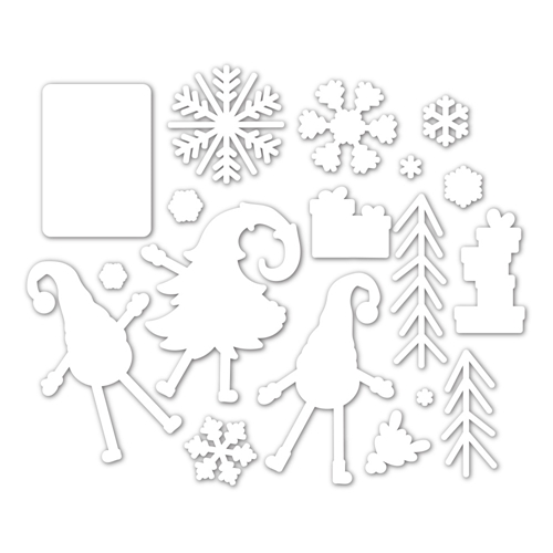 Simon Says Stamp GNOME FOR THE HOLIDAYS Wafer Dies sssd112100c Preview Image