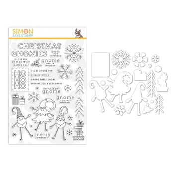 Simon Says Stamps And Dies GNOME FOR THE HOLIDAYS set360gfh