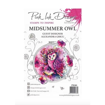 Pink Ink Designs MIDSUMMER OWL A5 Clear Stamps pi046