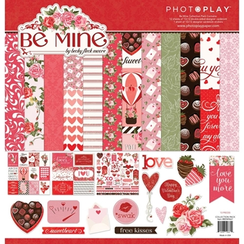 PhotoPlay BE MINE 12 x 12 Collection Pack bem9661