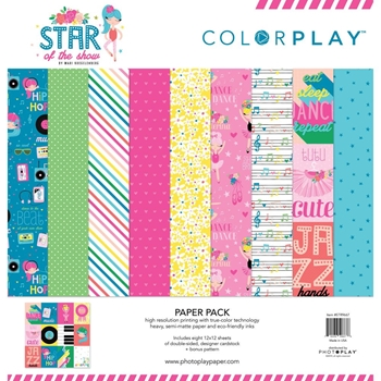 PhotoPlay STAR OF THE SHOW 12 x 12 Collection Pack ColorPlay str9667