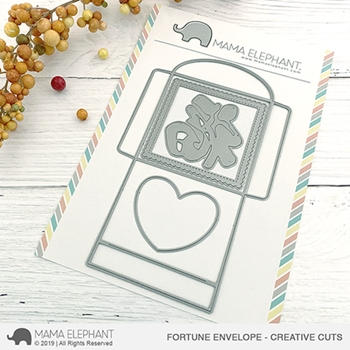 Mama Elephant FORTUNE ENVELOPE Creative Cuts Steel Dies