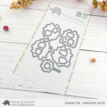 Mama Elephant ZODIAC OX Creative Cuts Steel Dies