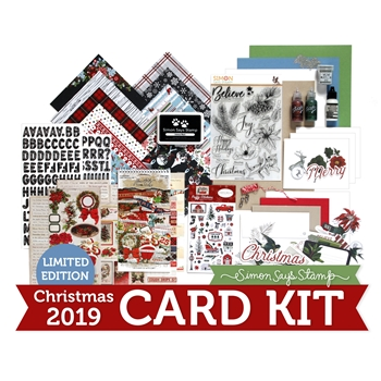 Limited Edition Simon Says Stamp Holiday Card Kit THE MAGIC OF CHRISTMAS 2019 sssmck19