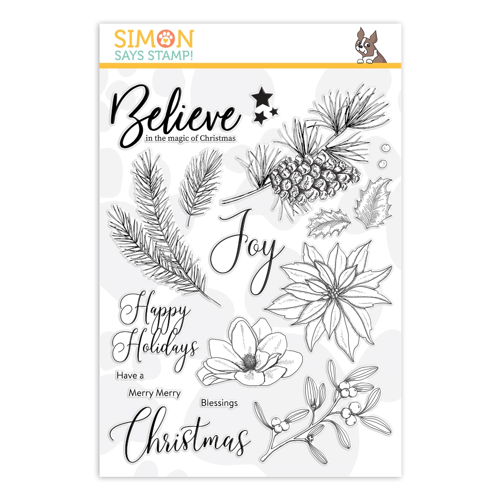 Simon Says Clear Stamps THE MAGIC OF CHRISTMAS sss202103 zoom image