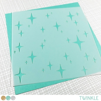 Create A Smile TWINKLE Stencil scs37