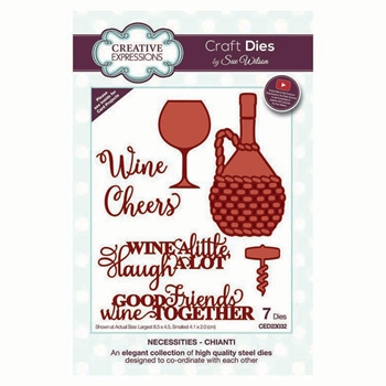 Creative Expressions CHIANTI Sue Wilson Necessities Collection Dies ced23032