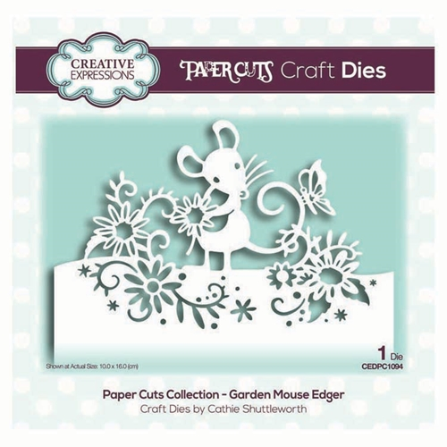 Creative Expressions GARDEN MOUSE EDGER Dies cedpc1094 Preview Image