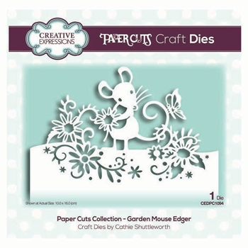 Creative Expressions GARDEN MOUSE EDGER Dies cedpc1094