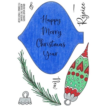 Inky Antics ORNAMENT Clear Stamp Set 11473mc