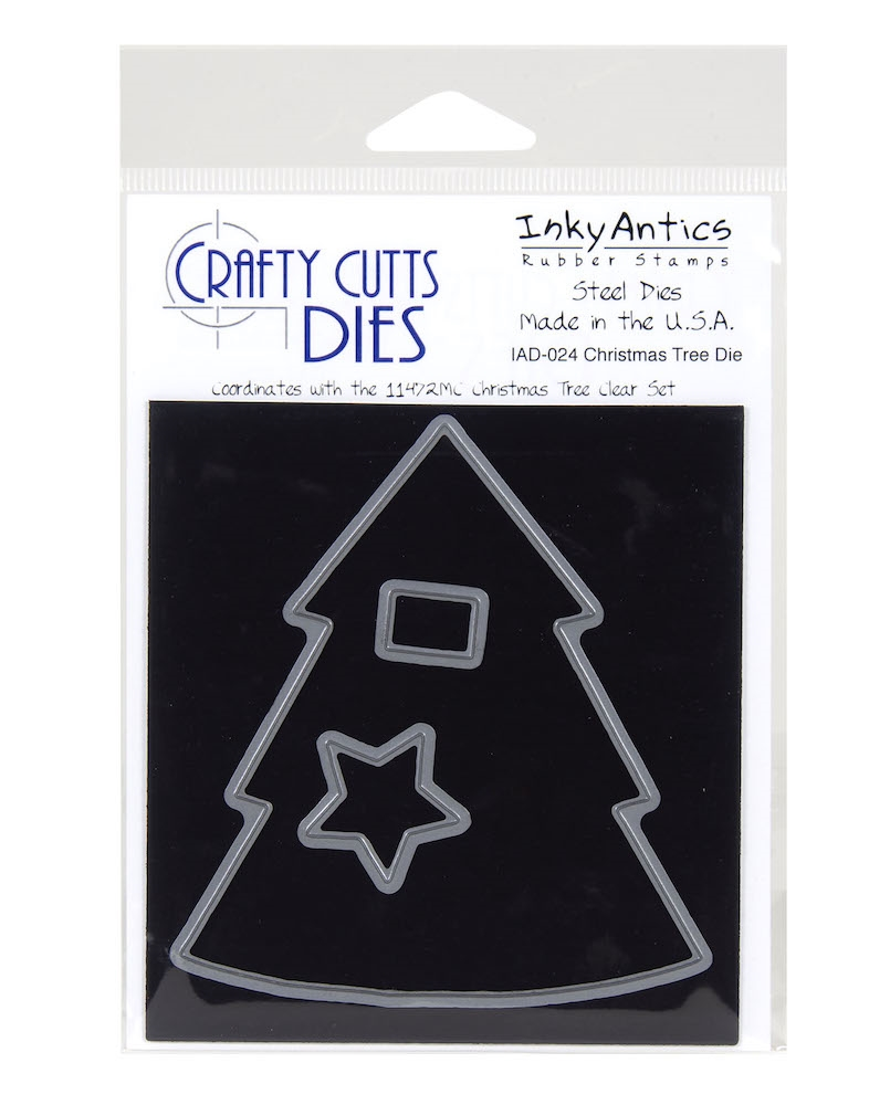 Inky Antics CHRISTMAS TREE Die Set iad-024 zoom image