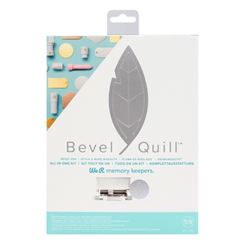 We R Memory Keepers BEVEL QUILL STARTER KIT 661043
