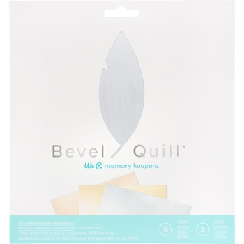 We R Memory Keepers METALLIC BEVEL BOARD Bevel Quill 661146