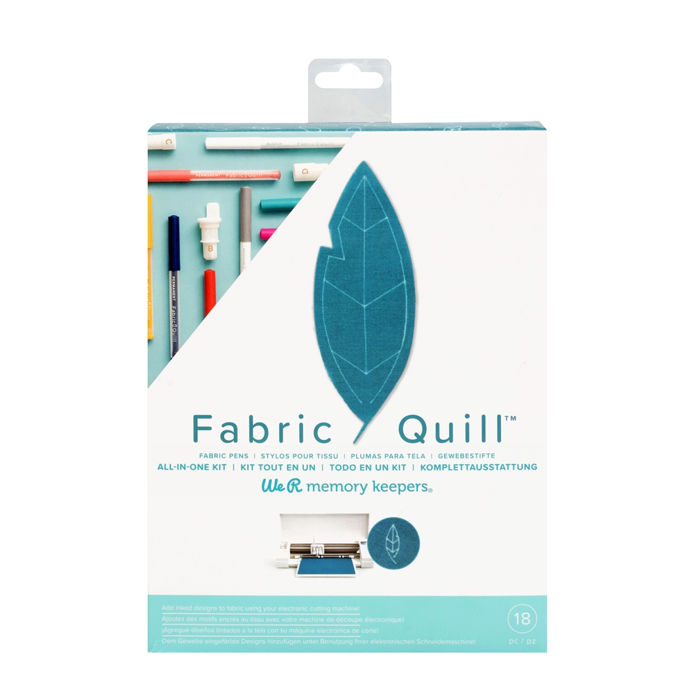 We R Memory Keepers FABRIC QUILL STARTER KIT 661078 zoom image