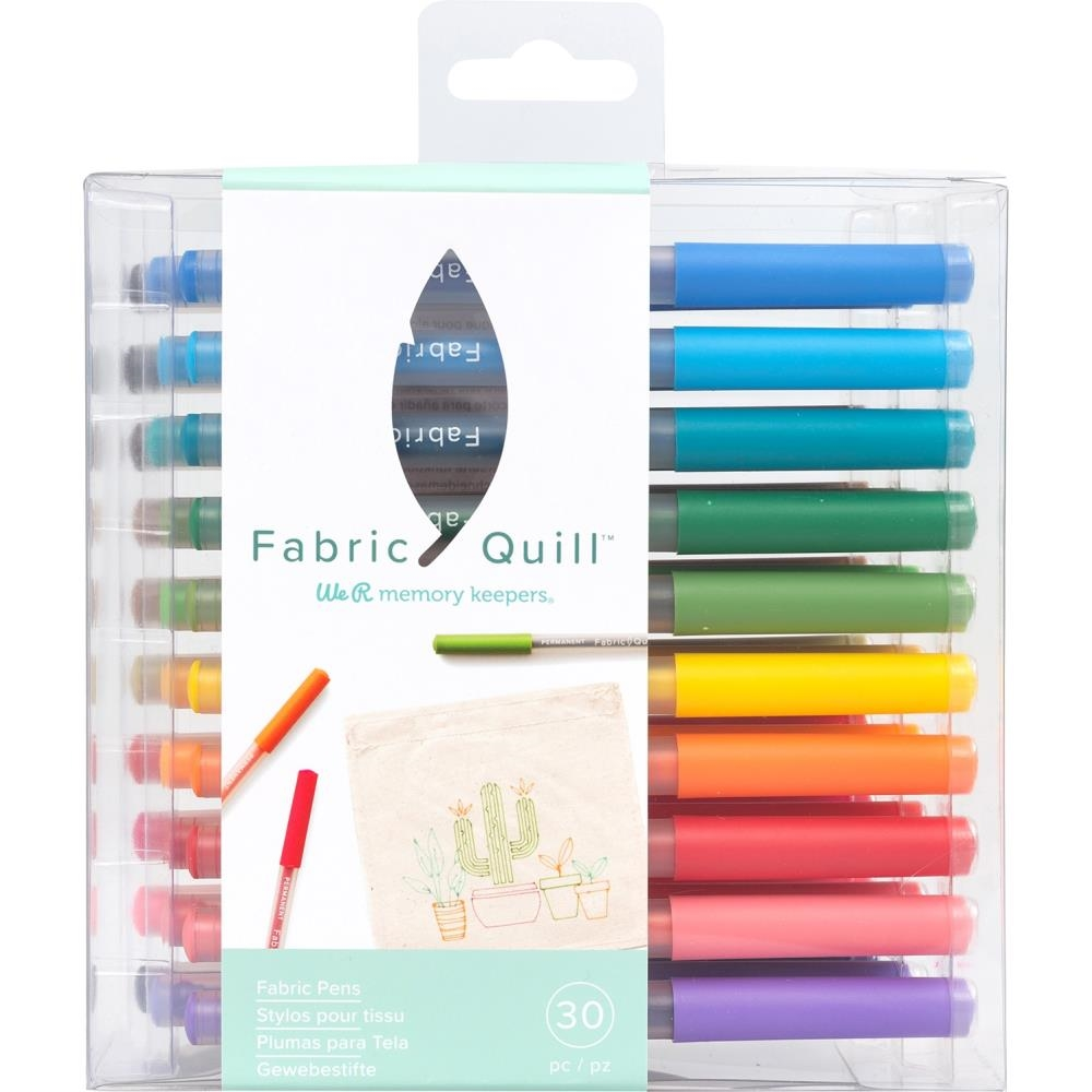 We R Memory Keepers FABRIC PENS FINE TIP Fabric Quill Refills 661173* zoom image