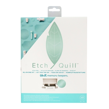 We R Memory Keepers ETCH QUILL STARTER KIT 661090