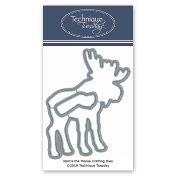 Technique Tuesday MORRIS THE MOOSE Crafting Dies 02816