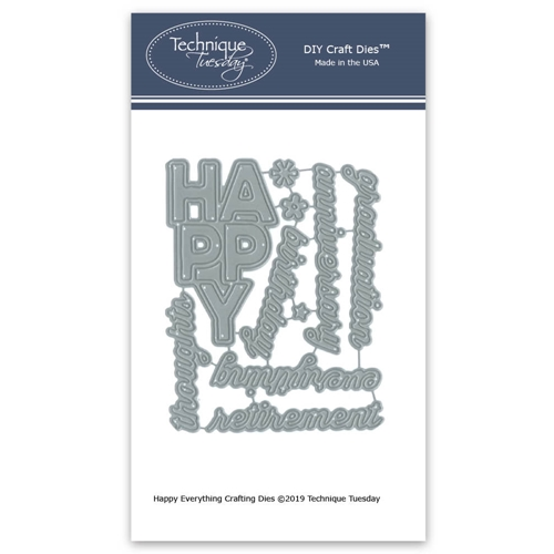 Technique Tuesday HAPPY EVERYTHING Crafting Dies 02820 Preview Image
