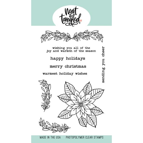 Neat and Tangled CLASSIC CHRISTMAS Clear Stamps NAT494 Preview Image