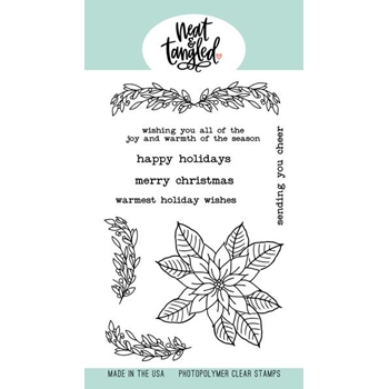 Neat and Tangled CLASSIC CHRISTMAS Clear Stamps NAT494*