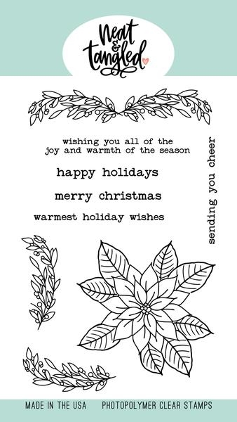 Neat and Tangled CLASSIC CHRISTMAS Clear Stamps NAT494 zoom image