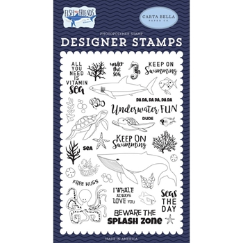 Carta Bella UNDER THE SEA Clear Stamp Set cbfaf111040