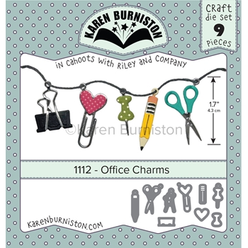 Karen Burniston OFFICE CHARMS Die Set 1112