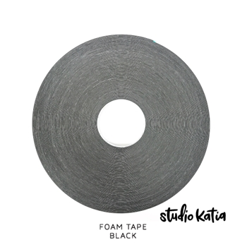 Studio Katia BLACK Double Sided Foam Tape sk016