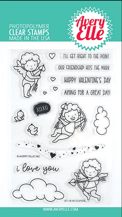 Avery Elle Clear Stamps CUPIDS ST-19-40 zoom image