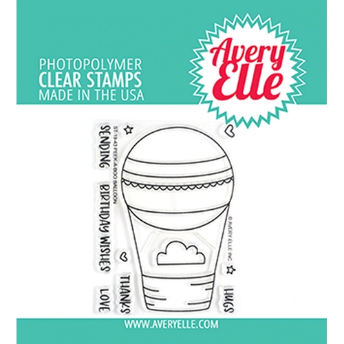 Avery Elle Clear Stamps PEEK A BOO BALLOON ST-19-43 Preview Image