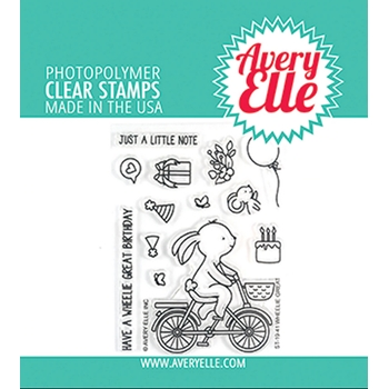 Avery Elle Clear Stamps WHEELIE GREAT ST-19-41