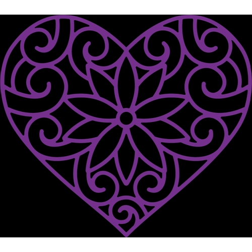 Crafter's Companion DECORATIVE HEART Gemini Elements Die gem-md-ele-dhe Preview Image