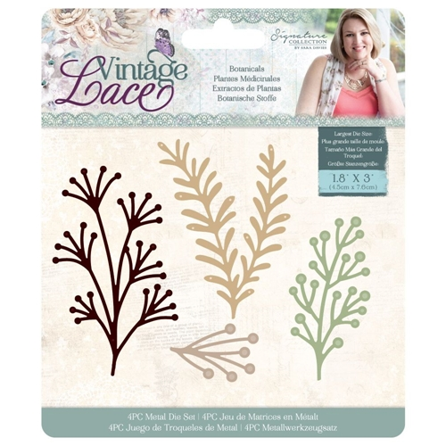 Crafter's Companion BOTANICALS Vintage Lace Dies s-vl-md-bot Preview Image