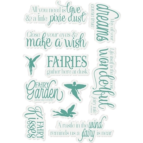 Crafter's Companion FAIRY FABLES Fairy Garden Clear Stamps ng-fairy-st-fafa Preview Image