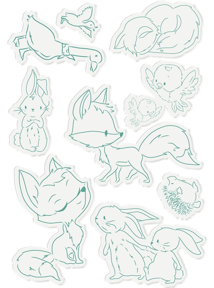 Crafter's Companion GARDEN FRIENDS Fairy Garden Clear Stamps ng-fairy-st-gfri zoom image