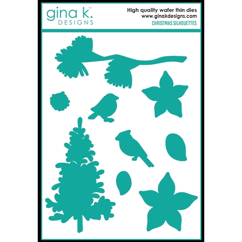 Gina K Designs CHRISTMAS SILHOUETTES Die Set 0367 Preview Image