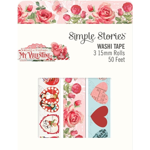 Simple Stories MY VALENTINE Washi Tape 11824 Preview Image