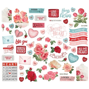 Simple Stories MY VALENTINE Bits And Pieces 11825